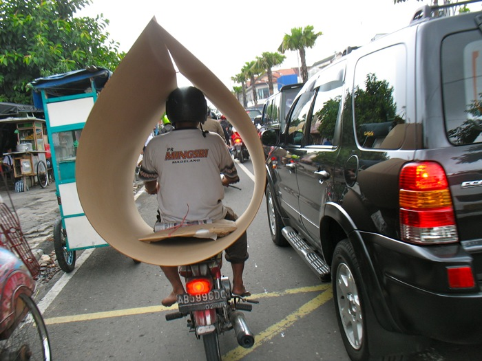 Yogjakarta Carrying Plywood