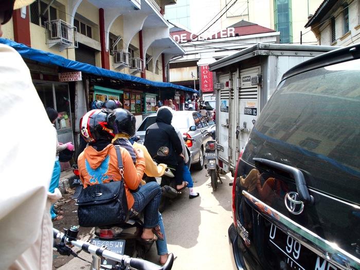 Bandung Traffic Jam