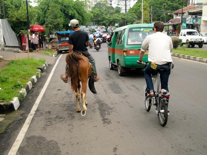 Wheeling Down in Bandung