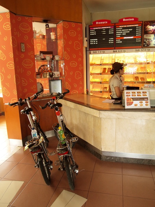 Cycles in Dunkin Doughnuts